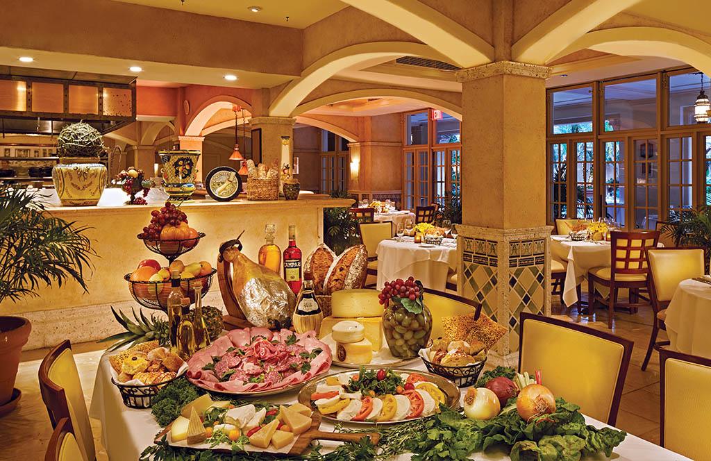 Fontana restaurant breakfast indoor view