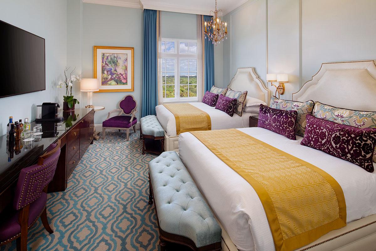 Superior room double queen bed