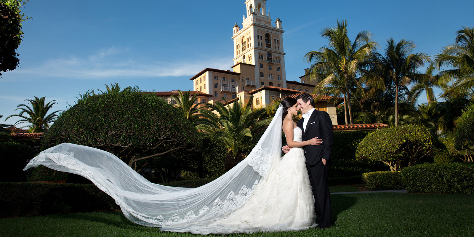 Biltmore wedding couple