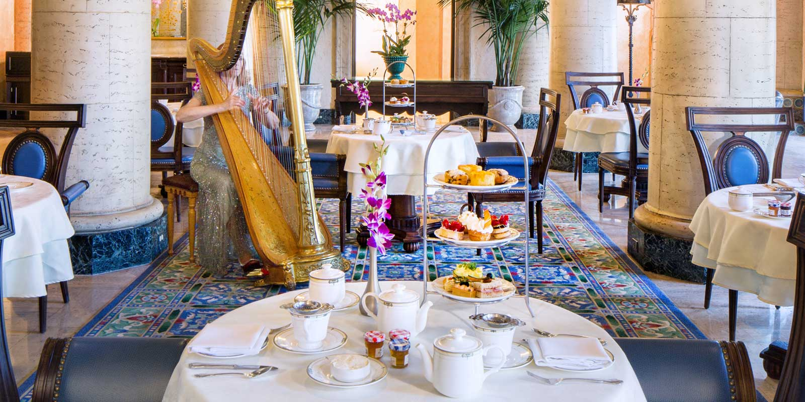 Afternoon tea at The Biltmore