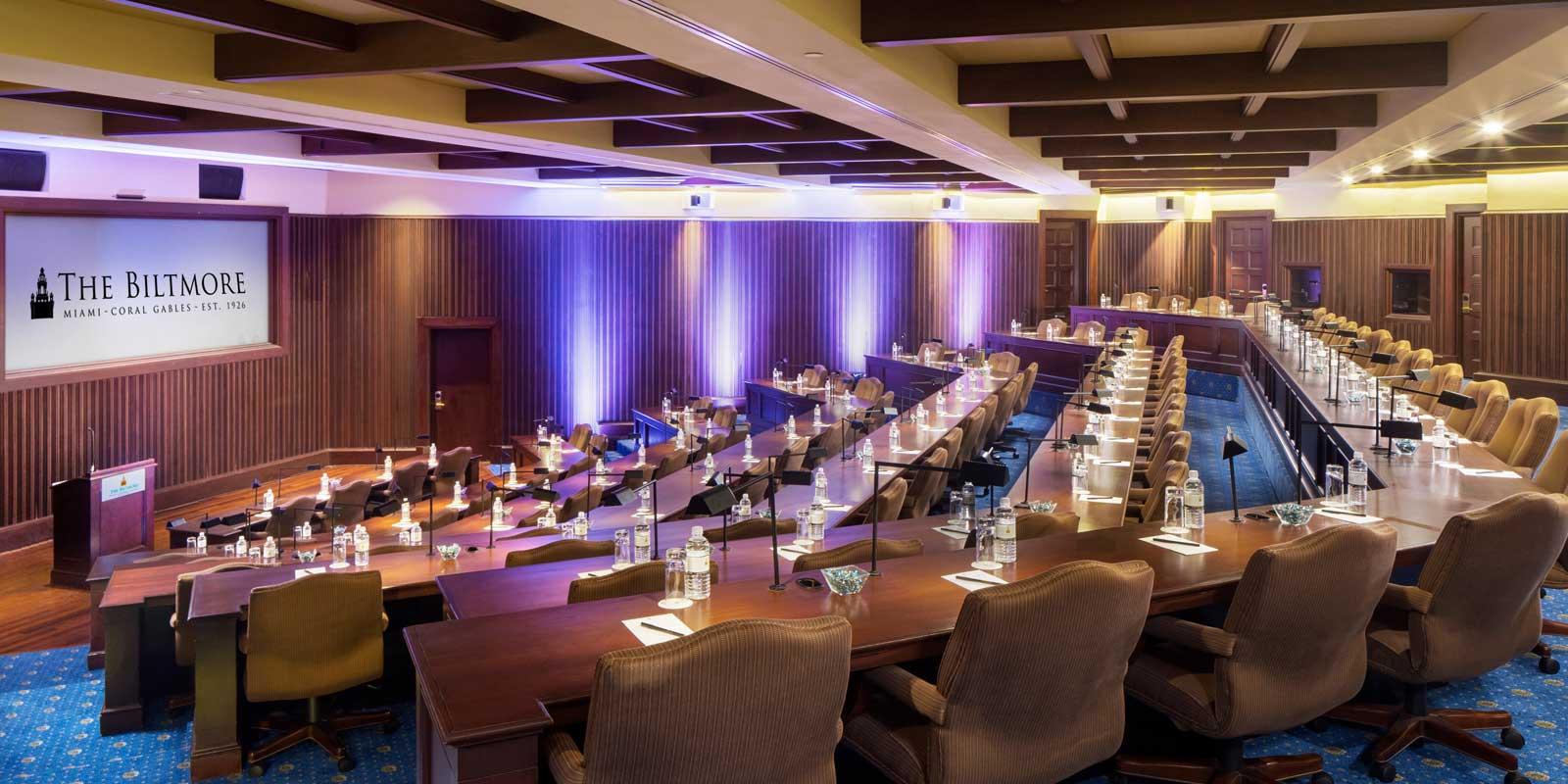 Presidential meeting spaces