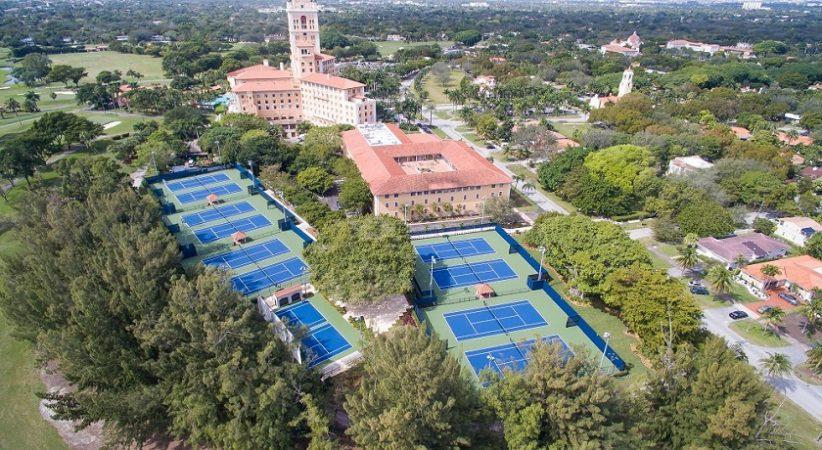 Enjoy playing tennis when staying at The Biltmore!
