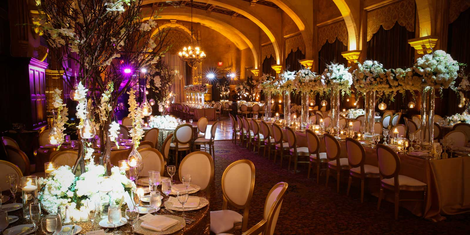 Have your dream wedding reception at the Biltmore