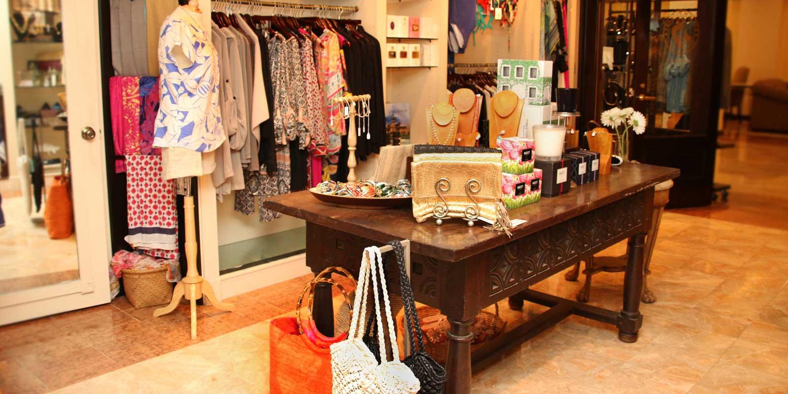 Retail shops at The Biltmore