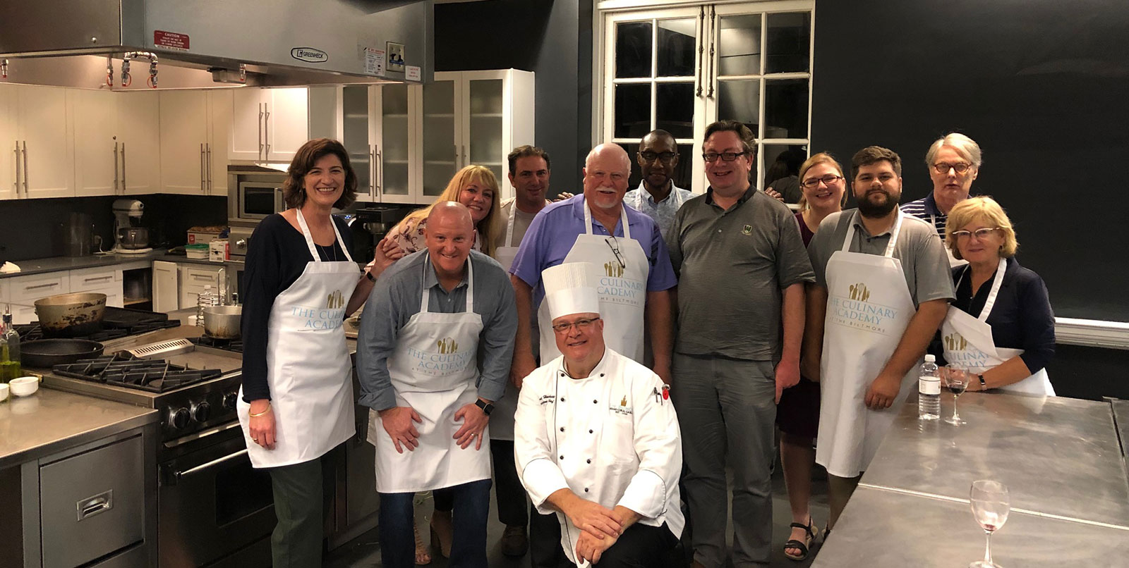 Team building cooking classes