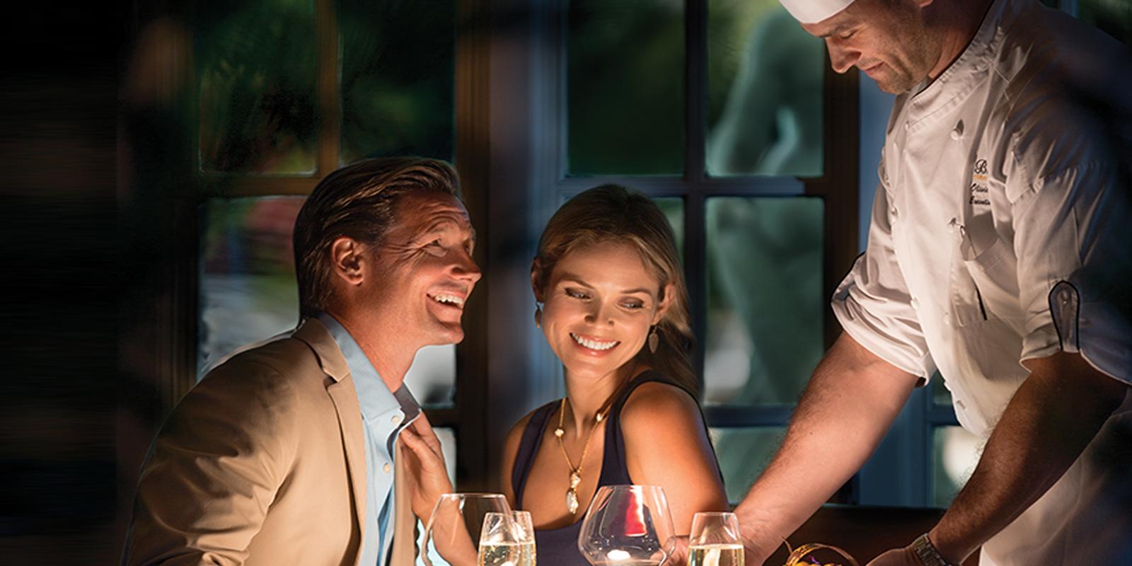 Enjoy fine dining at the Biltmore!