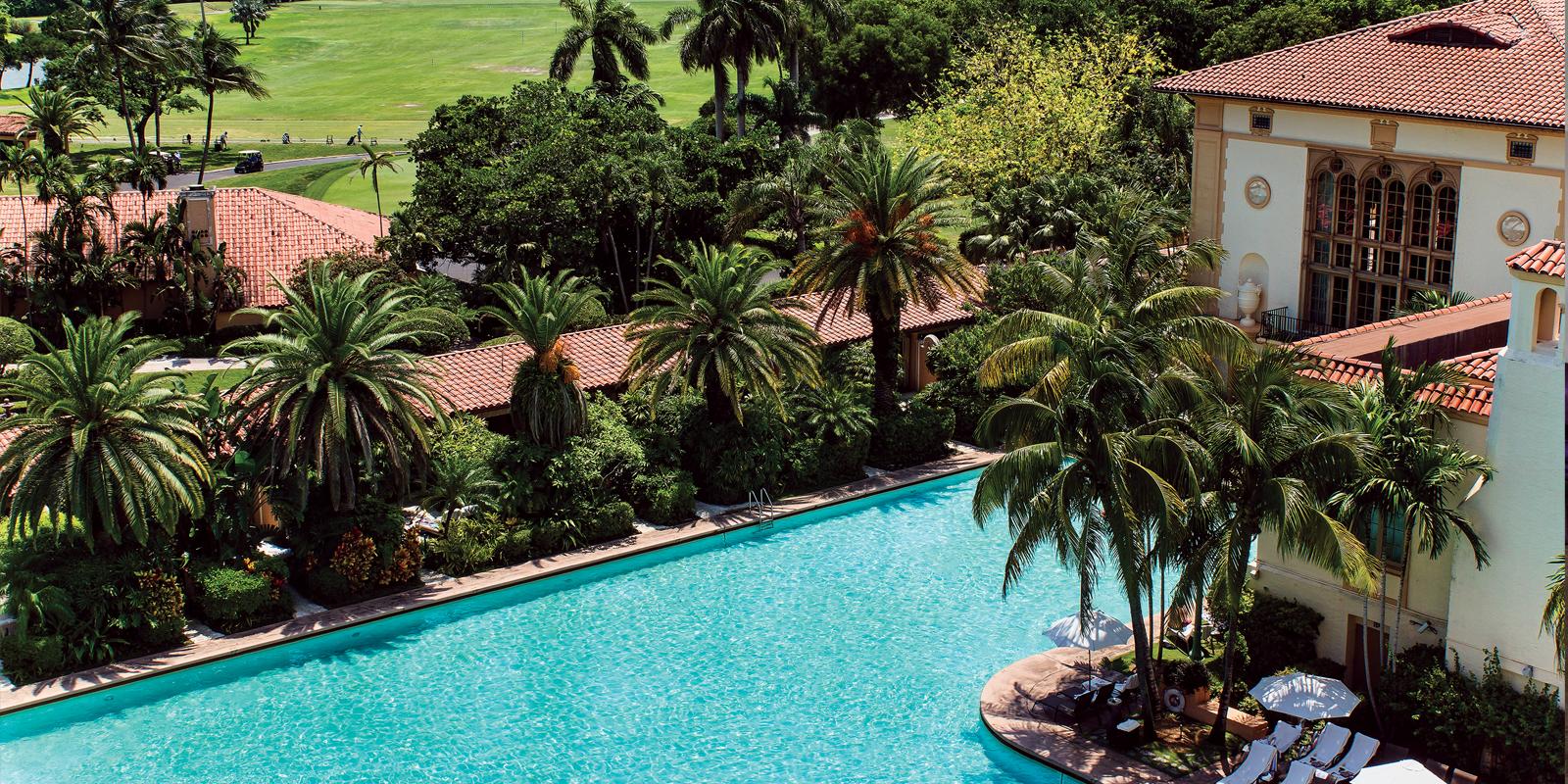 View of the Biltmore pool
