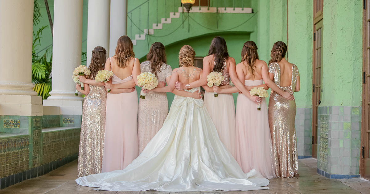 Bridal Party – Photo by Emily Harris