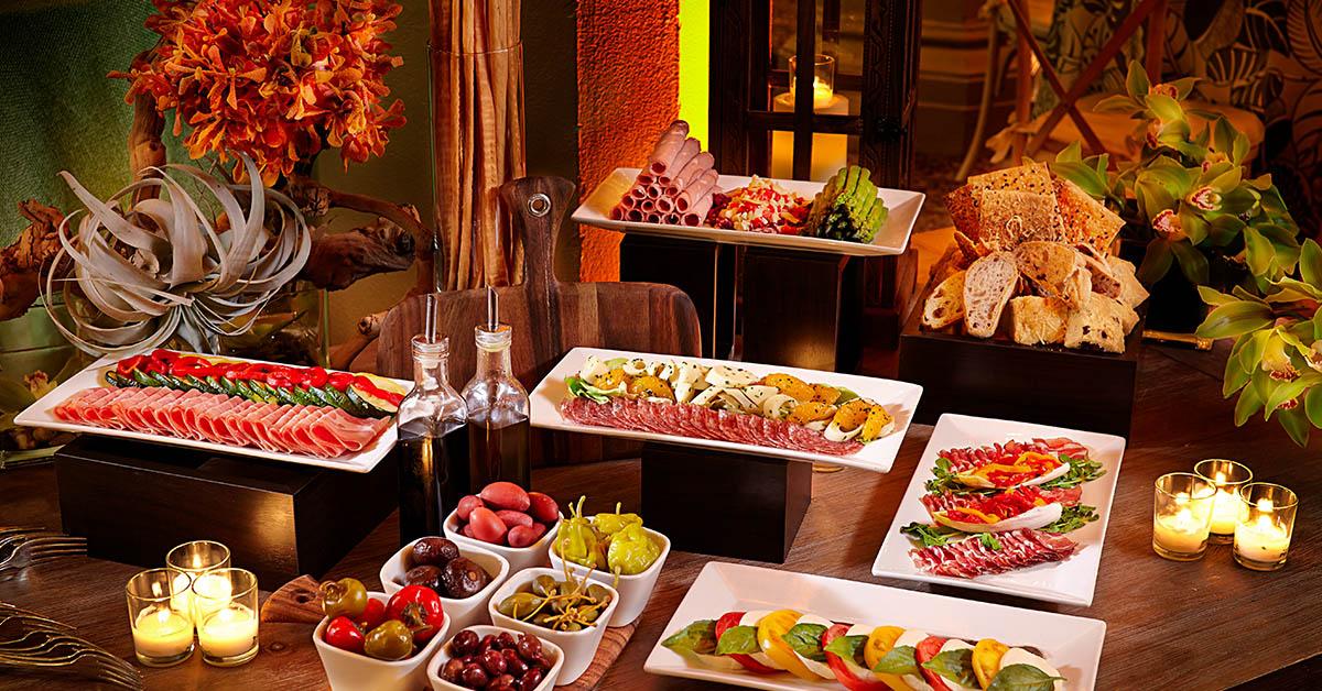 Biltmore Dining menu options