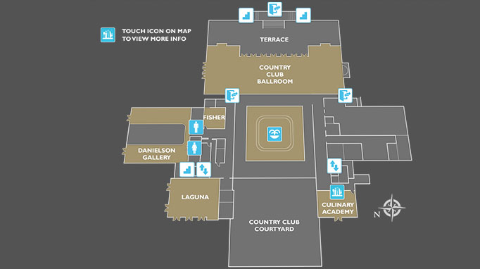 Conference Center 2nd floor plan