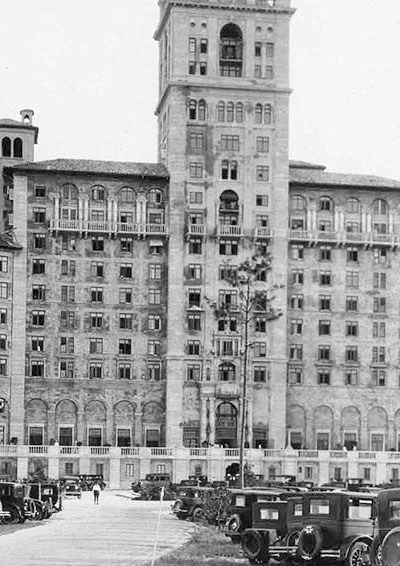 Historic photo out-front of Biltmore Building